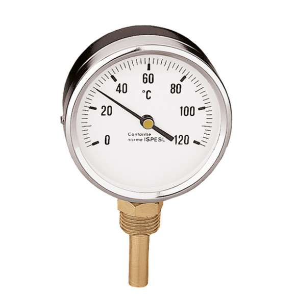 "688 - Temperature gauge. 1/2"" bottom connection"