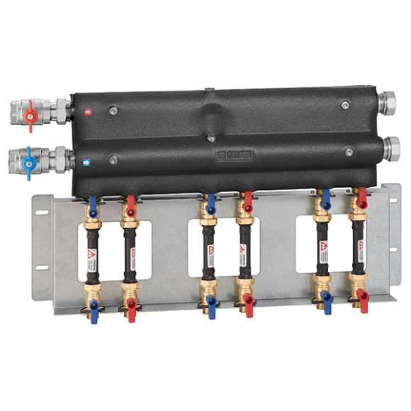 7000 - Unit with 3 outlets for domestic water circuit