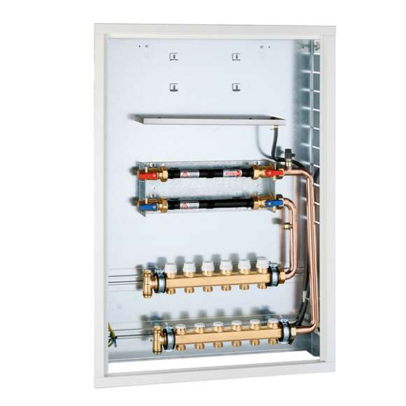 70008 - Recessed box for PLURIMOD with distribution manifold for fan-coil heating systems