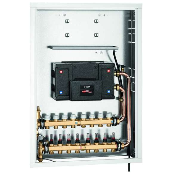 70026 - Recessed box for PLURIMOD EASY with distribution manifold for radiant panel systems