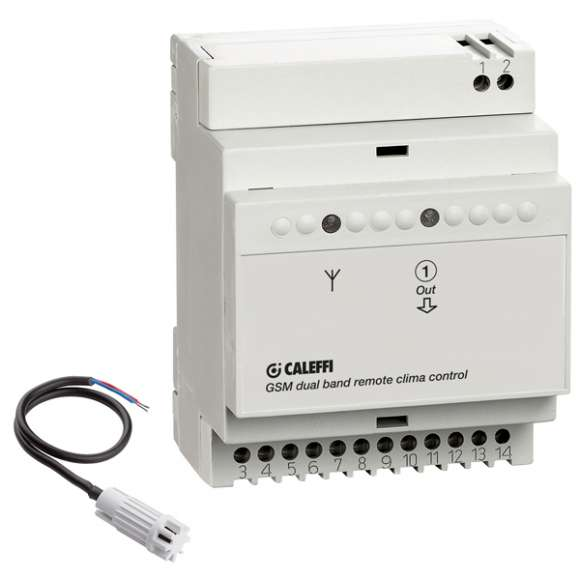 739 - Programador telefónico com módulo GSM com sonda de temperatura ambiente