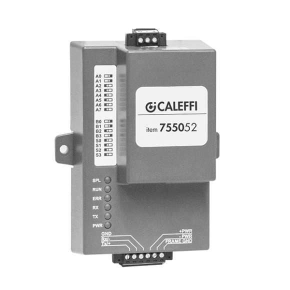 7550 - Convertitore M-BUS / RS-485 / MODBUS /BACnet