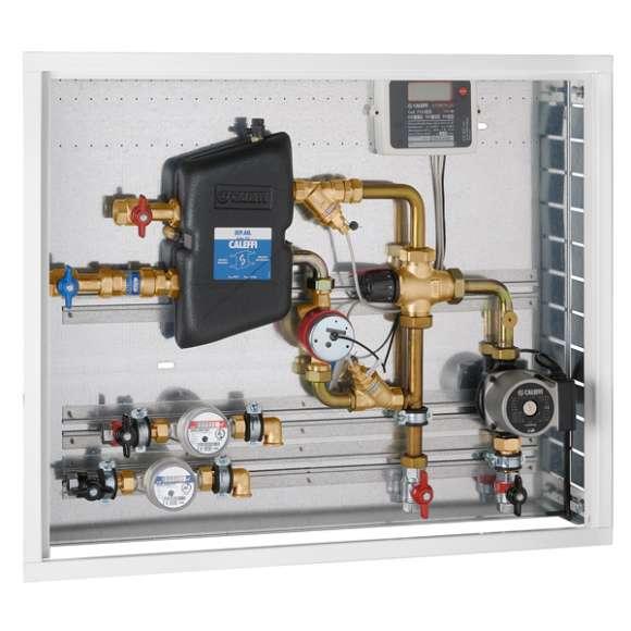 792 - SEP.AN. Modulo d'utenza con separazione idraulica con regolazione termostatica