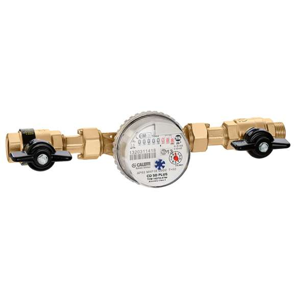 7940 - Domestic water meter kit. With local reading
