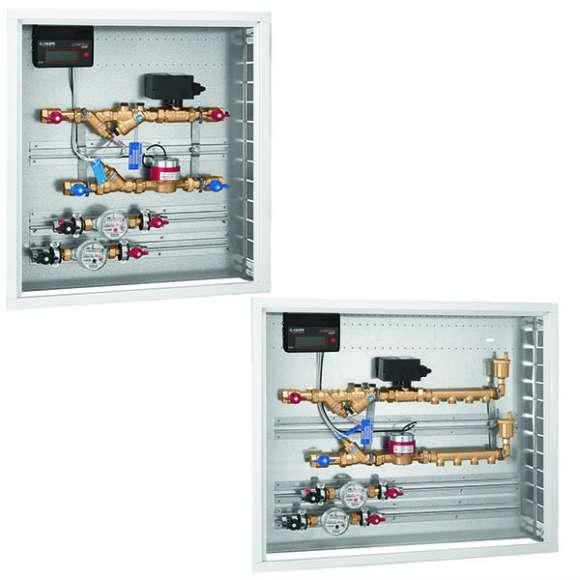 799 - Modulo d'utenza due vie con AUTOFLOW® - Sistema CONTECA®