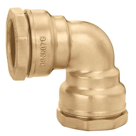 866 - Elbow fitting in brass