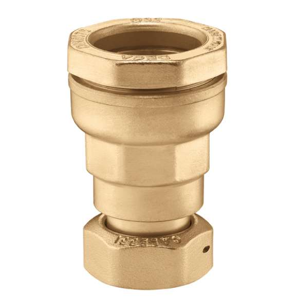 876 - DECA - Female fitting with union in brass