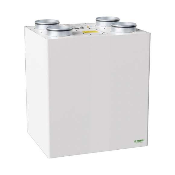 AIR112 - Unità di ventilazione meccanica verticale per installazione a parete con recuperatore di calore in polistirene ad alta efficienza - Qmax250 m3/h