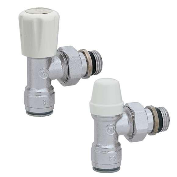 PT338 - FLASHCAL - Kit composto por válvula termostatizável e detentor de encaixe rápido