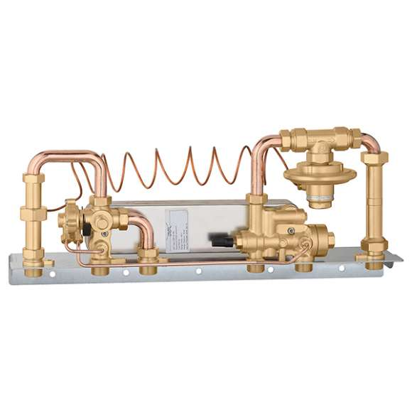 SATK15 - Compact wall mounted heat interface unit. Mechanical version - ABC