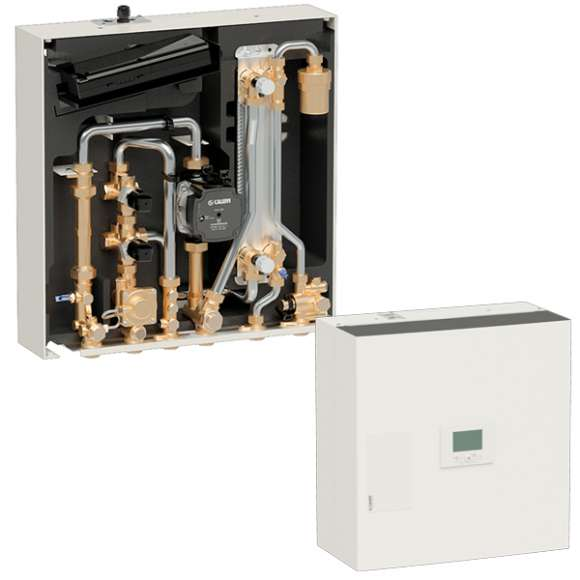 SATK22 - HIGH temperature heat interface unit. With primary pump. 50-60 kW