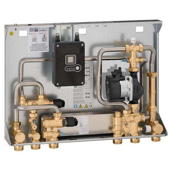 SATK50 - Compact recess mounted heat interface unit - MEDIUM temperature