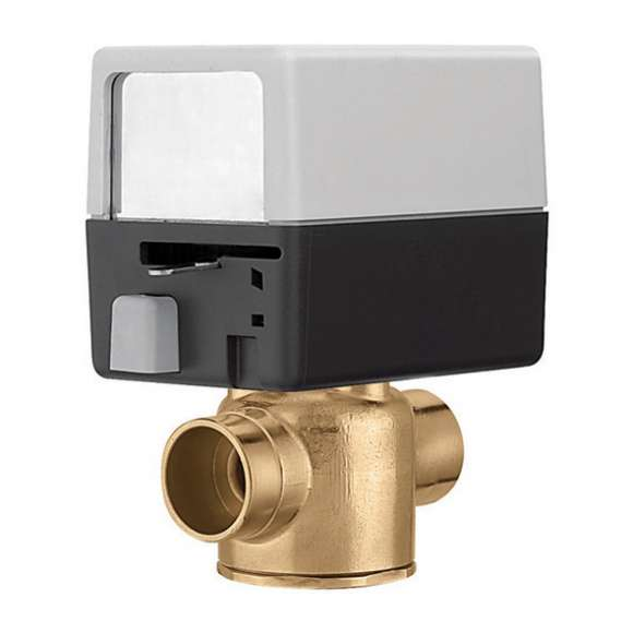 "Z44 CALEFFI 1/2"" 2-WAY SWEAT ZONE VALVE"