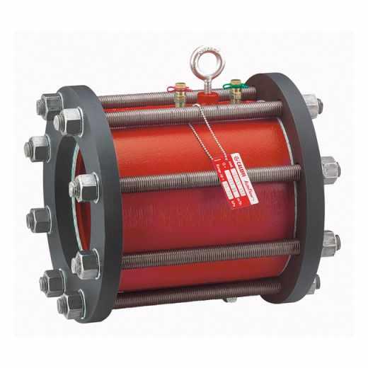 103  - AUTOFLOW®  Versão Flangeada - Estabilizador automático de caudal. Cartucho em aço inoxidável