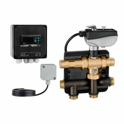 106 - HYBRICAL® - Integracijska jedinica za toplinsku crpku i bojler. S izolacijom i setom za spajanje