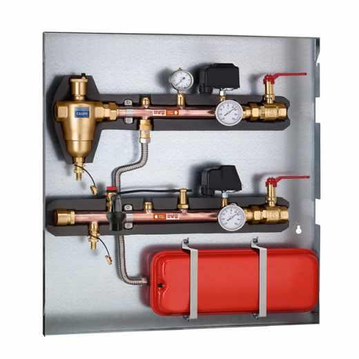 115 - Coletor porta-instrumentos e acessórios para bombas de calor com fundo de fixação em aço