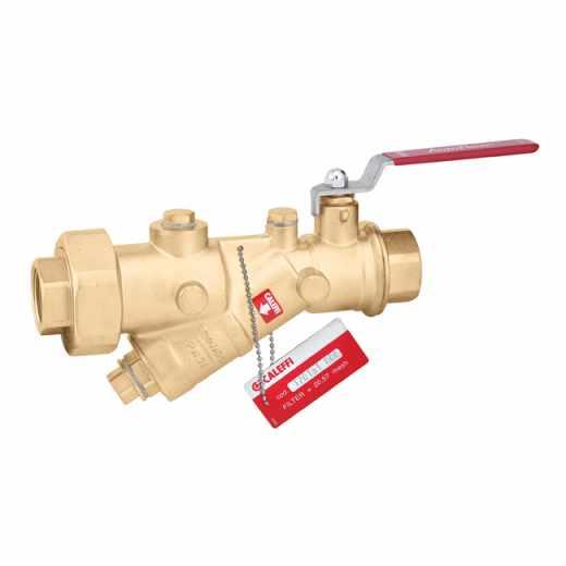 120 FILTER - Kombinacija filtra in krogličnega ventila