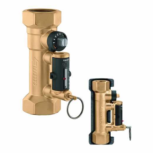 132 - Балансировочный клапан с расходомером