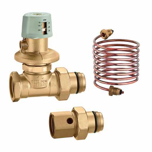 140 - Regolatore di pressione differenziale per collettori