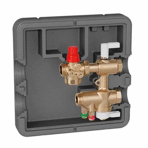 149 - Priključni in regulacijski komplet za HVAC podpostaje. Z Venturijevo cevjo.