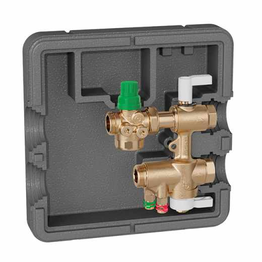 149 - Connection and regulation kit for HVAC terminal units. Without Venturi device