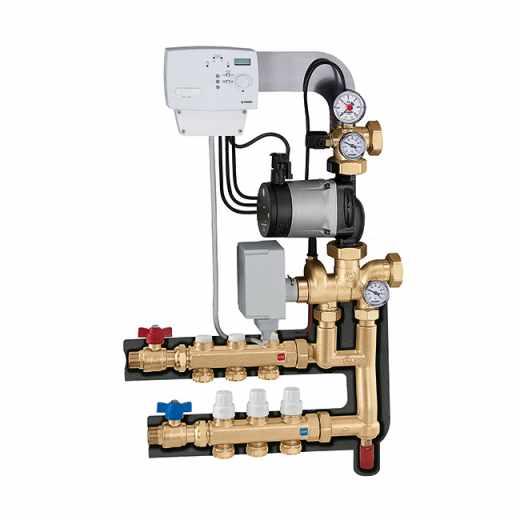 171 - Modulerende thermische regelgroep. Verdeelkit voor primair circuit.