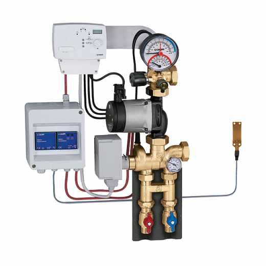 171 - Modulerende thermische regelgroep voor verwarming en koeling. Verdeelkit voor primair circuit.