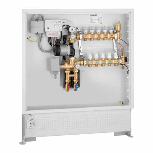 171 - Grupo de regulação térmica modulante com regulador digital