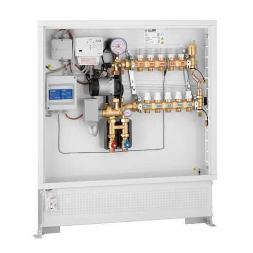 171 - Grupo de regulação térmica modulante com regulador digital para aquecimento e arrefecimento