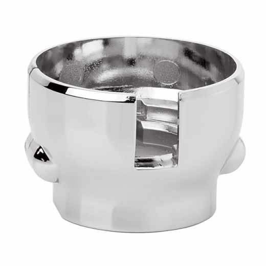 209 - Tamper-proof anti-theft cap. High chrome finish