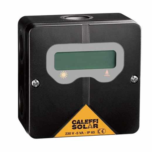 265 - Termóstato com visor para visualização da temperatura do termoacumulador