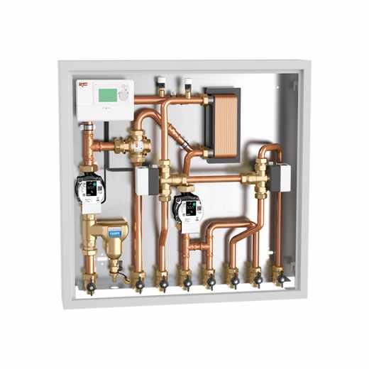 2853 - Enota za povezavo in upravljanje z energijo, različica za ogrevanje in sanitarno toplo vodo z bojlerjem