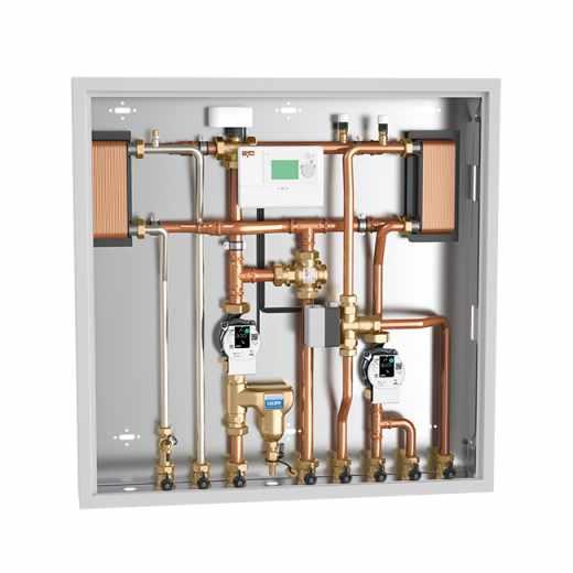 2855 - Enota za povezavo in upravljanje z energijo, različica za ogrevanje in pretočno pripravo STV