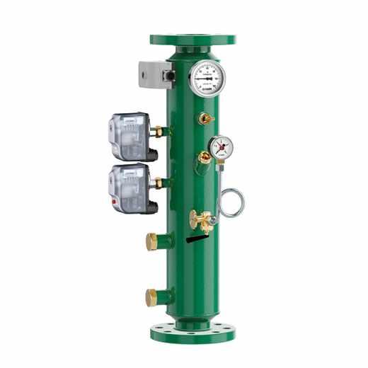 335 - Колектор-держатель для приборов и аксессуаров INAIL, с двойным реле давления.
