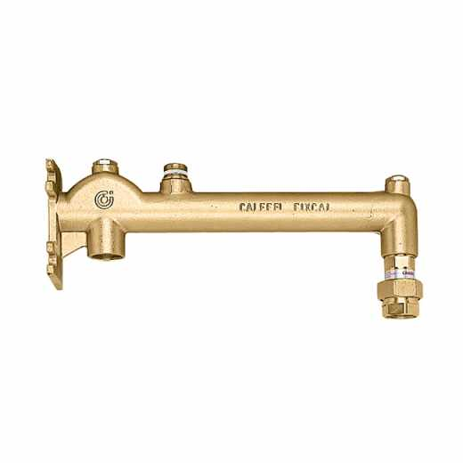 336 - Assembled wall mounting manifold. For sanitary installations.