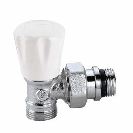 340 - Ugaoni ručni radijatorski ventil za bakarne i plastične cevi