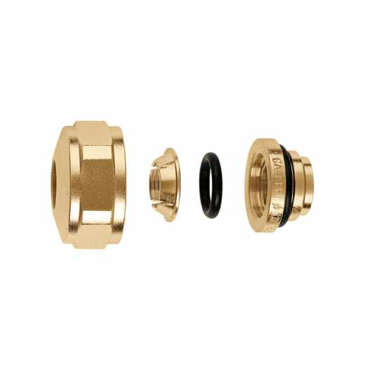 347 - Compression fitting for copper pipes, with O-Ring seal