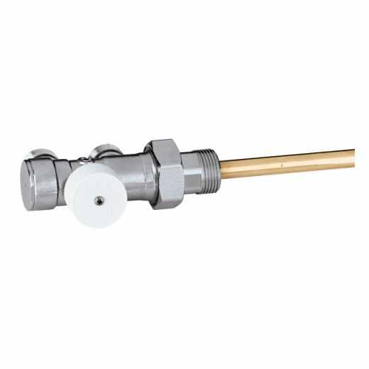348 - Uronski radijatorski ventil sa ručnom regulacijom za jednocevne sisteme