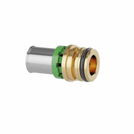 359 - Raccordi a pressare multipinza per tubi multistrato con clip di fissaggio