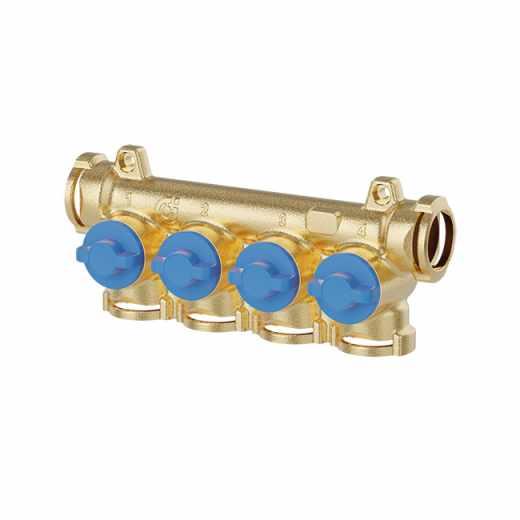 359 - Collettore con intercettazioni singole (manopole blu)