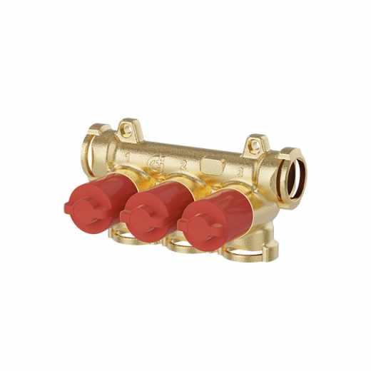 359 - Collettore con intercettazioni singole (manopole rosse)
