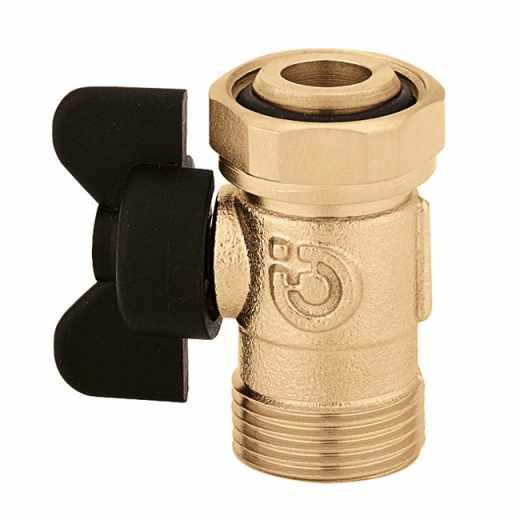 385 - Kroglični zaporni ventil z ročajem