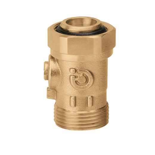385 - Kroglični zaporni ventil brez ročaja