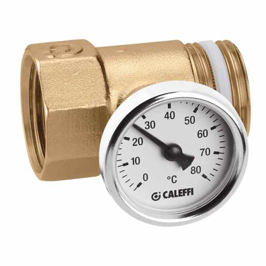 392 - Spojni priključek z vgrajenim termometrom