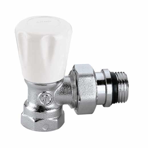 411 - Válvula manual para radiadores.Ligação em esquadria para tubagem de ferro