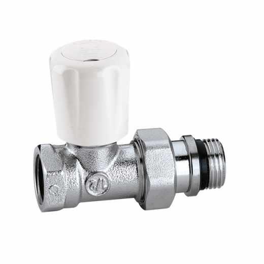 422 - Prav radijatorski ventil sa predregulacijom za čelične cevi