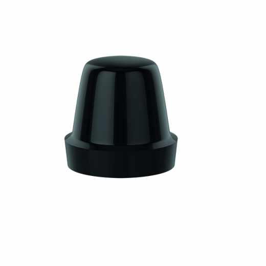 4493 - Knob for lockshields. Black.