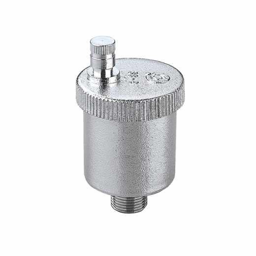5020 - MINICAL - Automatyczny zawór odpowietrzający 3/8″ GZ i 1/2″ GZ. Wykończenie: chrom
