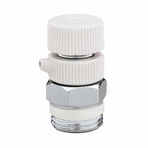 5054 - Purgador de ar manual para radiadores - Descarga orientável - Cromado