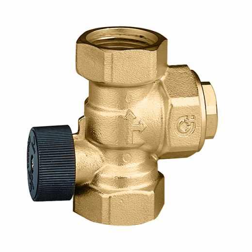 510 - Anti-termosifonový ventil zamezující přirozené cirkulaci vody